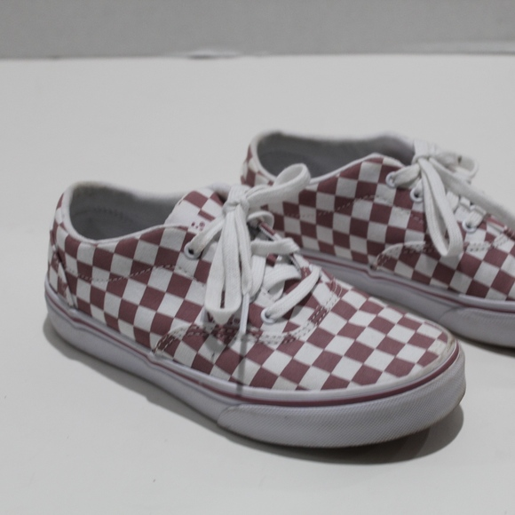 Checkered Vans Check Skate Shoes Lace Up Sneakers